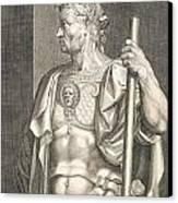 Sergius Galba Emperor Of Rome  Canvas Print by Titian