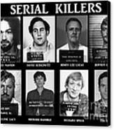 Serial Killers - Public Enemies Canvas Print