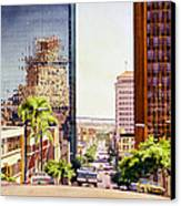 Seventh Avenue In San Diego Canvas Print