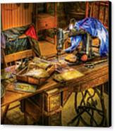 Sewing Machine  - Sewing Machine Iv Canvas Print