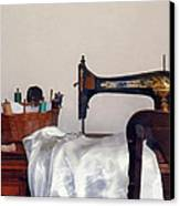 Sewing Room Canvas Print