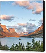 Shadowing Goose Island Canvas Print by Jon Glaser