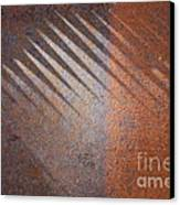 Shadows And Rust Canvas Print