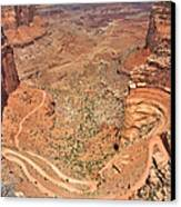 Shafer Trail Canvas Print