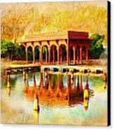 Shalimar Gardens Canvas Print by Catf