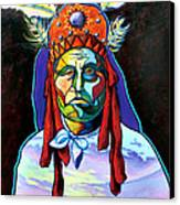 Shamans Power Canvas Print