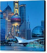 Shanghai Pudong Canvas Print by Fototrav Print