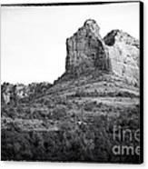 Shapes Of Oak Creek Canyon Canvas Print