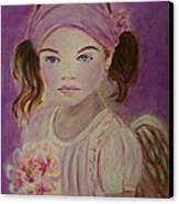 Sharissa Little Angel Of New Beginnings Canvas Print