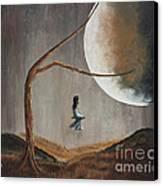 She Feels Memories By Shawna Erback Canvas Print by Shawna Erback