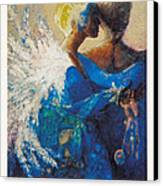 She Who Whispers Canvas Print