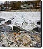 Shelburne's Falls Canvas Print by Randi Shenkman