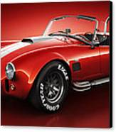 Shelby Cobra 427 - Bloodshot Canvas Print by Marc Orphanos