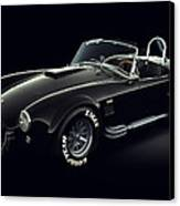 Shelby Cobra 427 - Ghost Canvas Print by Marc Orphanos