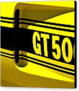 Shelby Gt500 Canvas Print