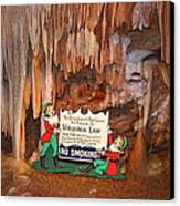 Shenandoah Caverns - 12127 Canvas Print by DC Photographer