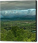 Shenandoah Green Valley Canvas Print by Lara Ellis