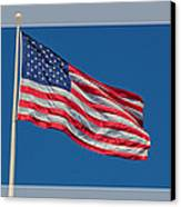 She's A Grand Old Flag Canvas Print by Floyd Hopper