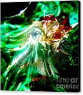 Shining Through The Glass II Canvas Print