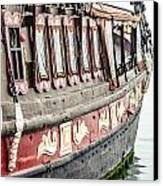 Ship In The Water. Canvas Print by Slavica Koceva