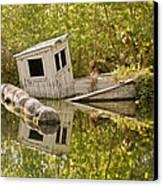 Shipwreck Silver Springs Florida Canvas Print