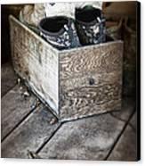 Shoebox Still Life Canvas Print by Tom Mc Nemar
