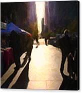 Shopping Stands Along Market Street At San Francisco's Embarcadero - 5d20842 Canvas Print
