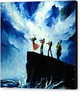 Shoreline Music Canvas Print