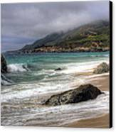 Shores Of Big Sur Canvas Print by Shawn Everhart
