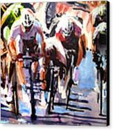 Short Sharp Sprint Canvas Print
