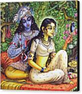 Shringar Lila Canvas Print