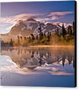 Shuksan Sunrise Canvas Print