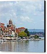 Sibenik Town On Adriatic Sea  Canvas Print by Borislav Marinic