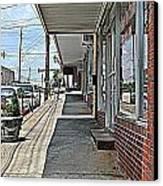 Sidewalk Canvas Print by Beverly Hammond