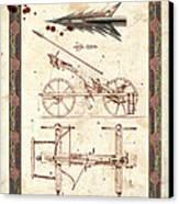 Siege Crossbow Canvas Print by Garry Walton