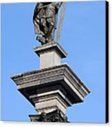 Sigismund's Column In Warsaw Canvas Print