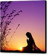 Silence Of Prayer Canvas Print by Tim Gainey