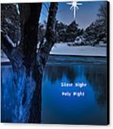Silent Night Canvas Print by Betty LaRue