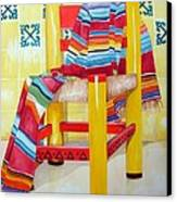 Silla De La Cocina--kitchen Chair Canvas Print