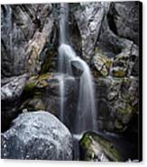 Silver Waterfall Canvas Print