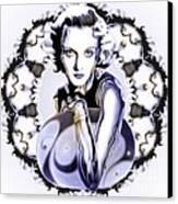 Silverscreenstar Carole Lombard Canvas Print