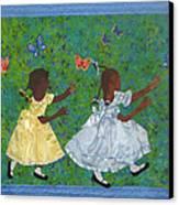 Simple Play Canvas Print by Aisha Lumumba