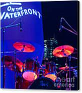 Singapore Drum Set 01 Canvas Print by Rick Piper Photography
