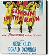 Singin In The Rain Canvas Print by Georgia Fowler