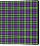 Sir Walter Scott Purple And Green Canvas Print by Gregory Scott