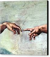 Sistine Chapel Canvas Print by SPL and Photo Researchers