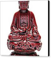 Sitting Buddha  Canvas Print