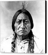 Sitting Bull Canvas Print by Bill Cannon