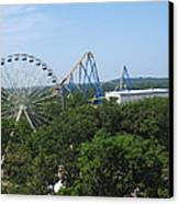 Six Flags Great Adventure - 12127 Canvas Print
