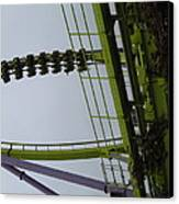 Six Flags Great Adventure - Medusa Roller Coaster - 12122 Canvas Print by DC Photographer